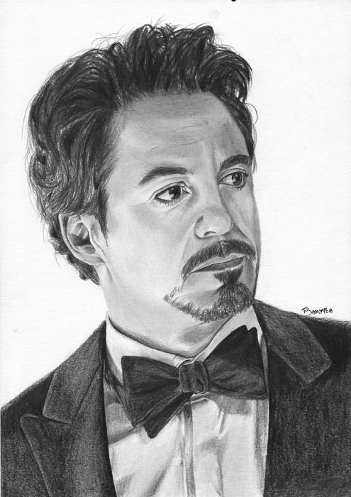 Robert Downey Jr by Bartica
